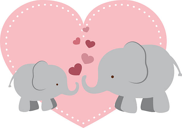 Best Pink Elephant Illustrations, Royalty.
