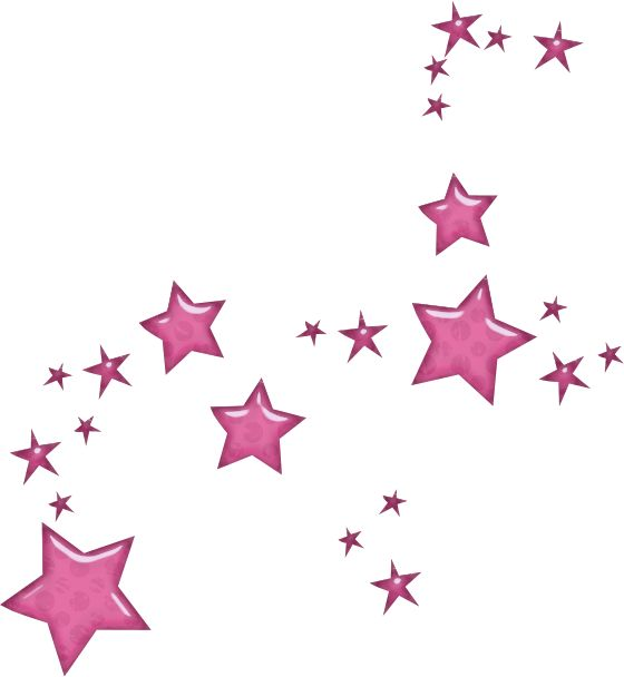 Animated Stars Clipart Pink School Qualified.