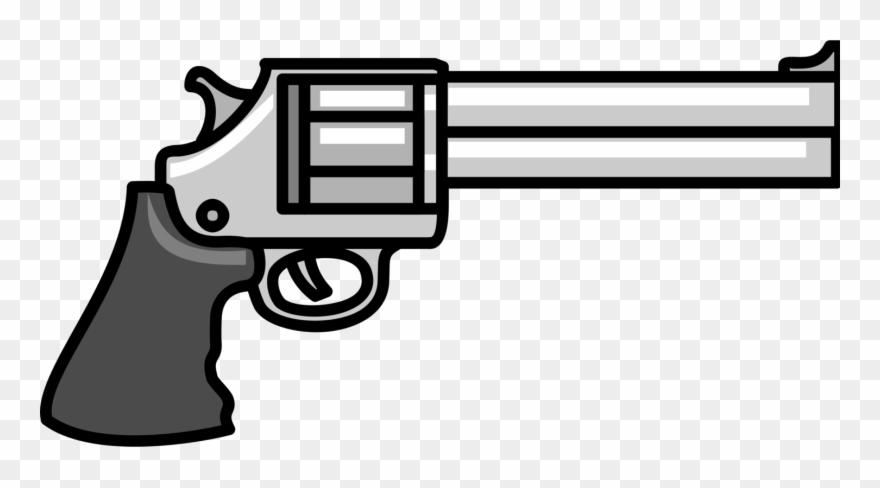 Pistol Revolver Firearm Handgun Weapon.