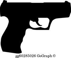 Pistol Clip Art.