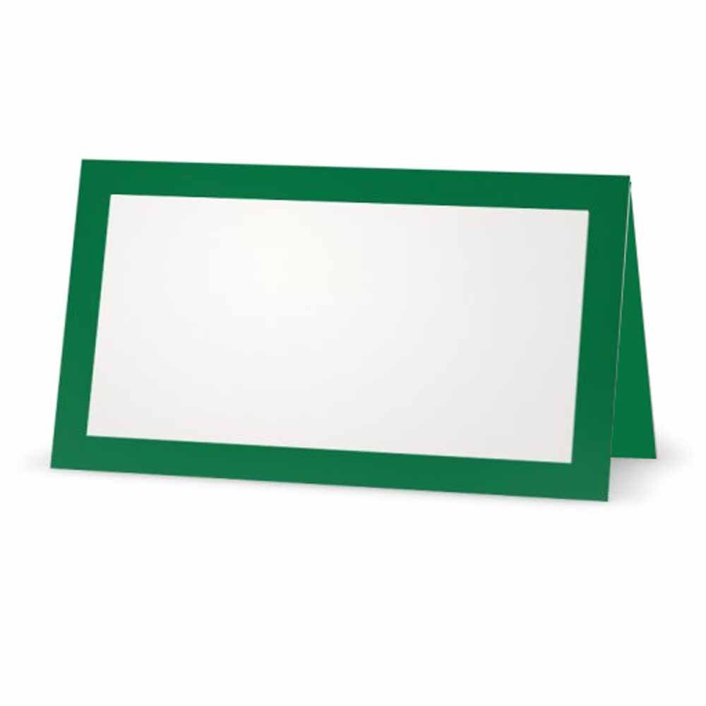 Green Place Cards.