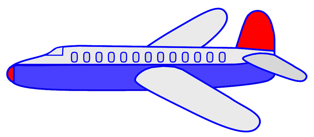 Airplane plane clip art at vector clip art free clipartcow.