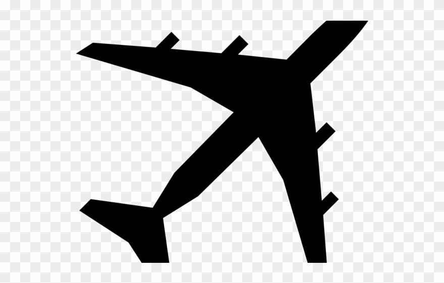 Plane Clipart Logo.