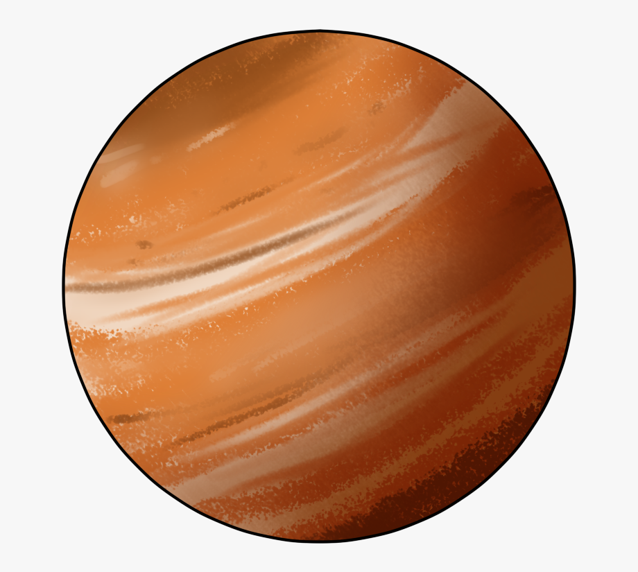Planet Jupiter Clip Art.
