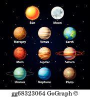 Planets Clip Art.