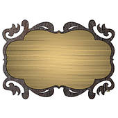 clip art plaques clipground. Black Bedroom Furniture Sets. Home Design Ideas