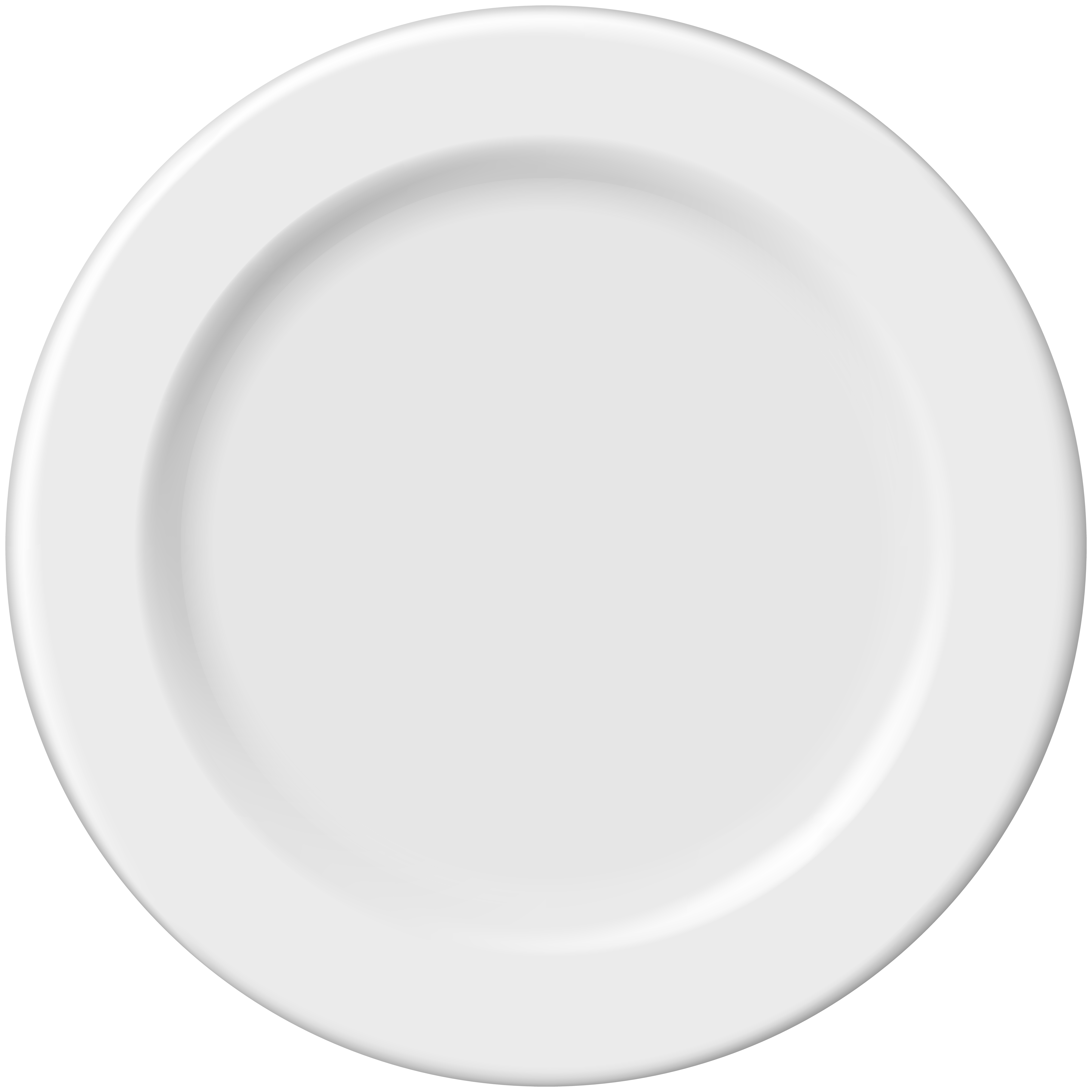 Plate PNG Clip Art.