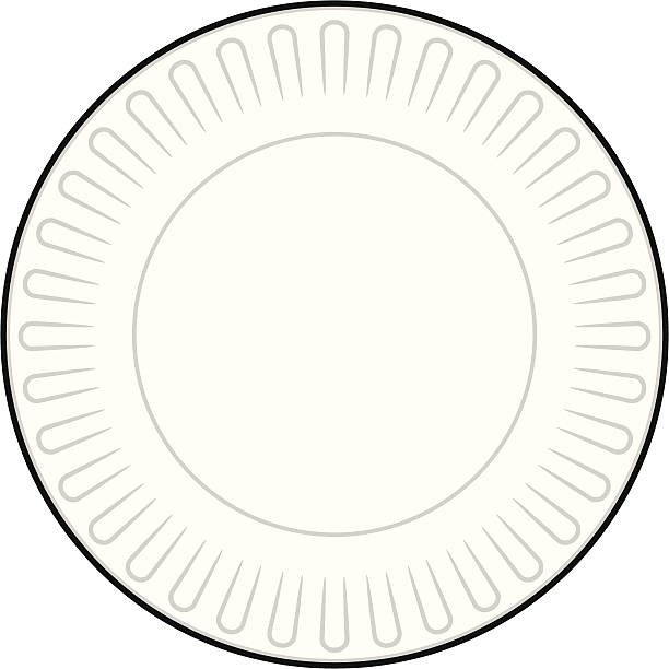 Best Paper Plate Illustrations, Royalty.