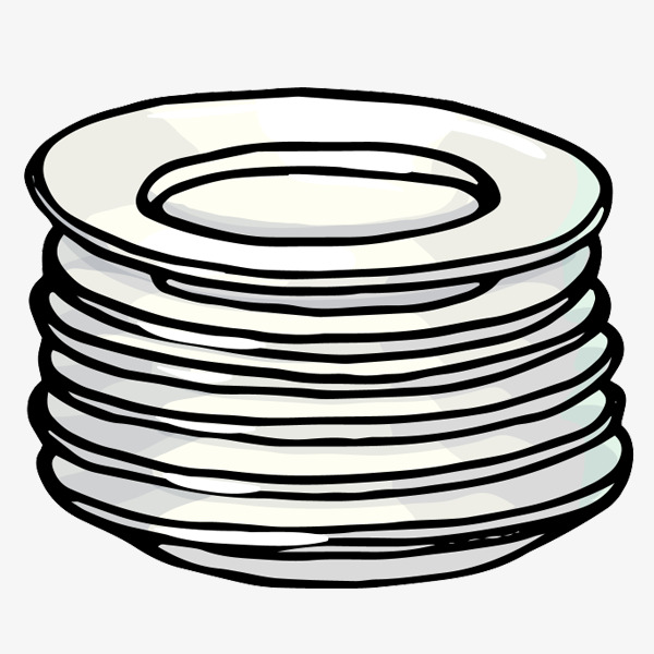 Plate clipart png 3 » Clipart Station.