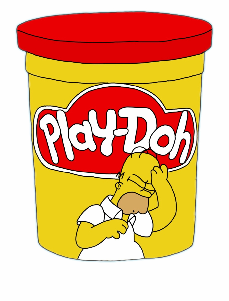 Playdough Clipart Playdough Container.