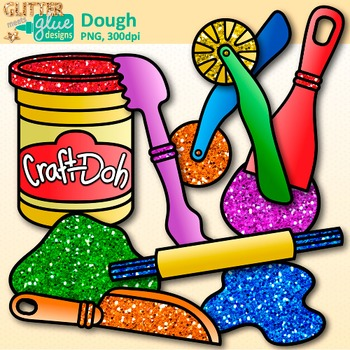 Playdough Clip Art: Craft.