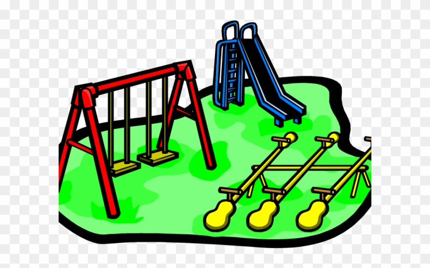 Park Clipart School Playground.