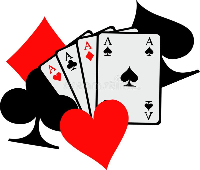 Playing Cards Stock Illustrations.