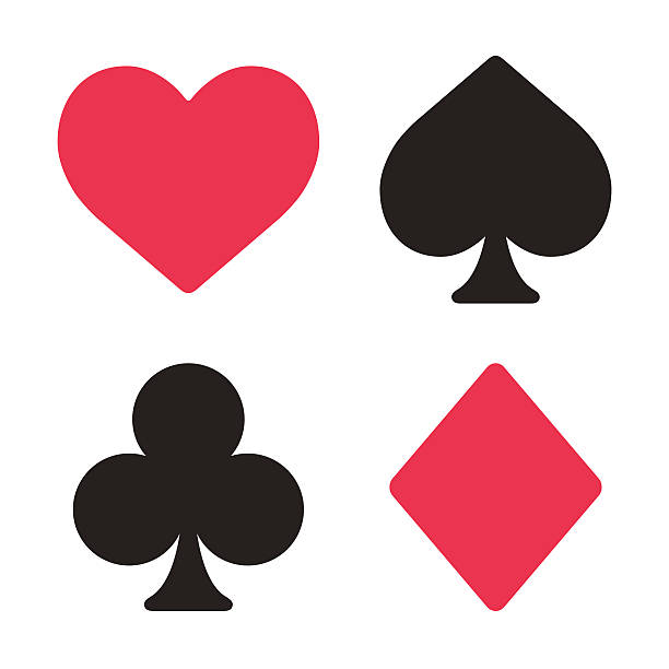 Best Hearts Playing Card Illustrations, Royalty.