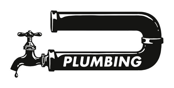 Best Plumbing Illustrations, Royalty.