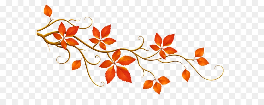Autumn Pattern Background png download.