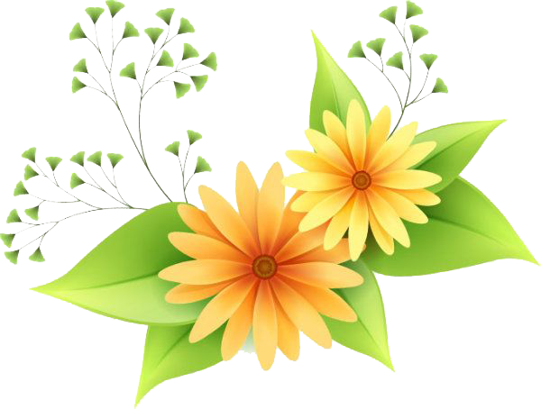 Download Flowers Vectors PNG Clipart.