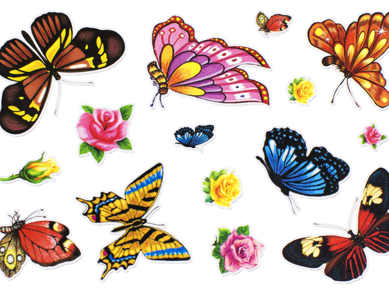 Free Cute Sticker PNG Clipart (Isolated.