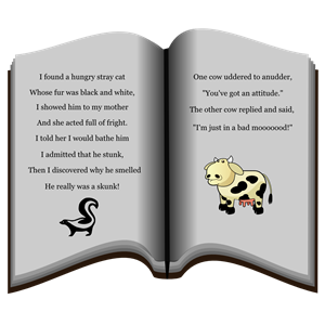 Book of Poems clipart, cliparts of Book of Poems free download (wmf.