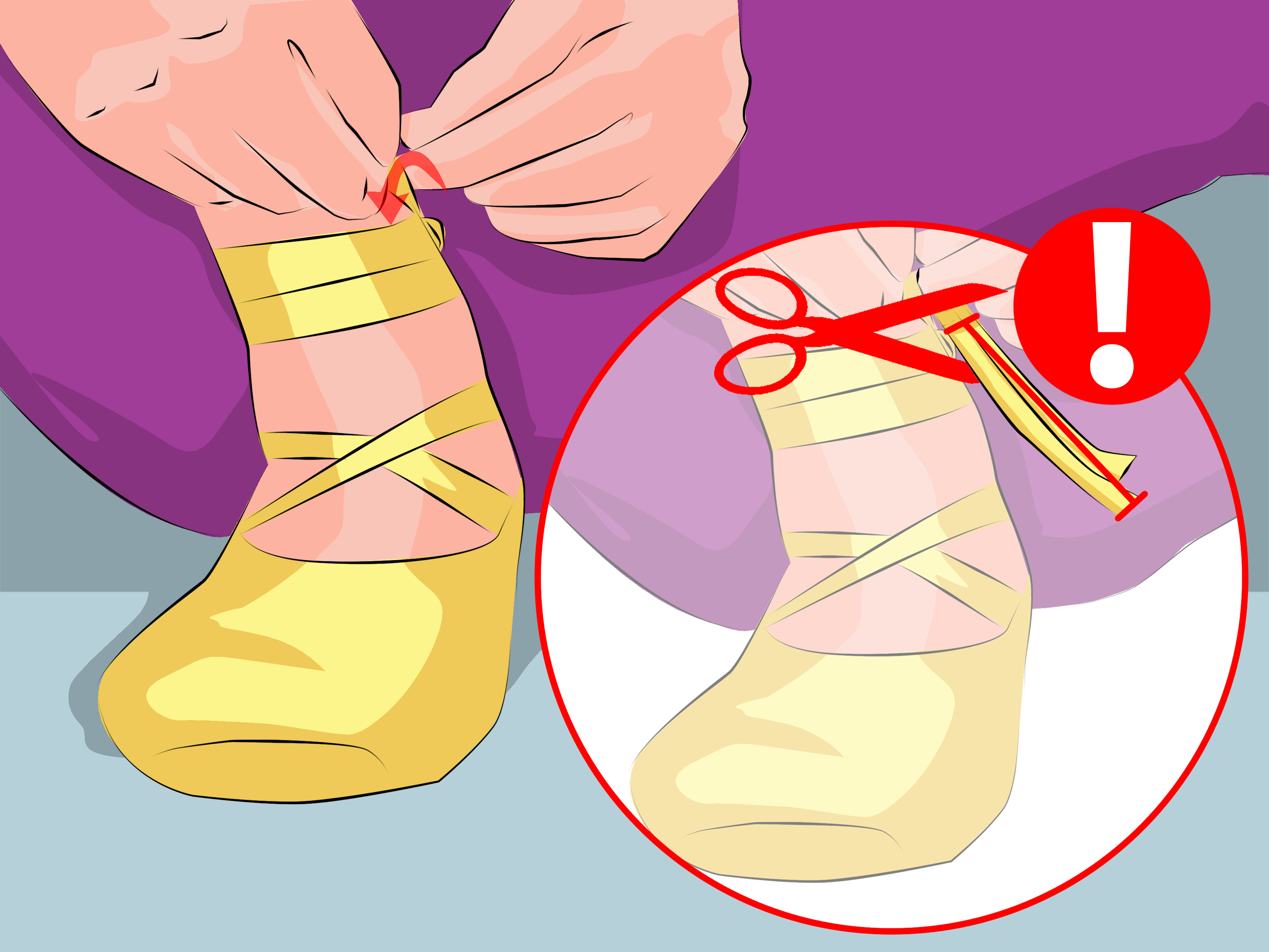 How to Tie Pointe Shoes: 6 Steps (with Pictures).