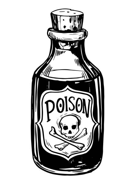 Best Poison Bottle Illustrations, Royalty.