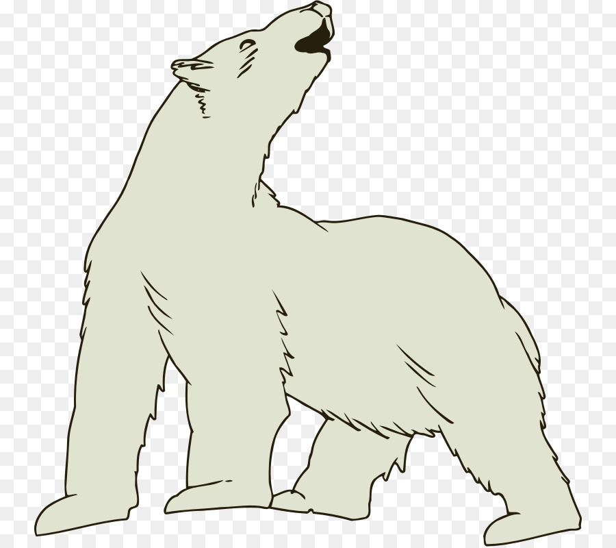 Polar Bear Cartoontransparent png image & clipart free download.