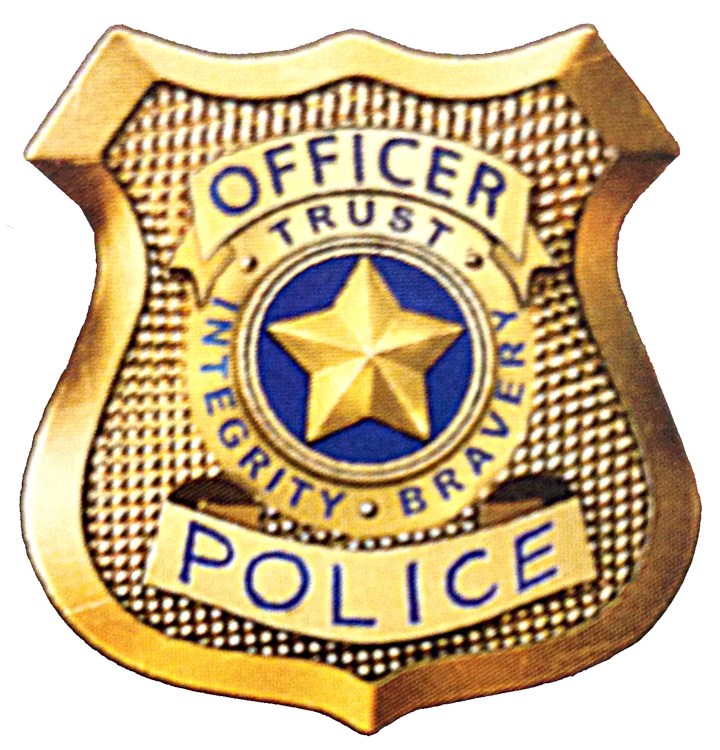 Police Badge Drawing at PaintingValley.com.