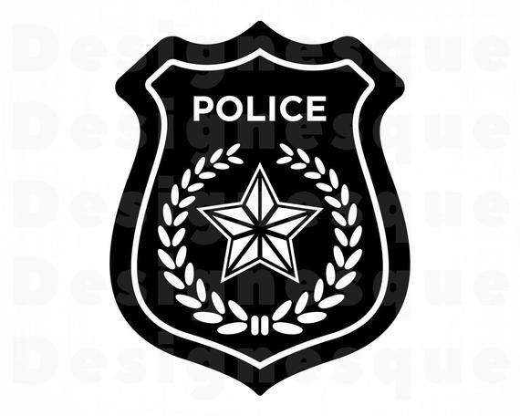 Police Badge SVG, Police SVG, Police Clipart, Police Files for Cricut,  Police Cut Files For Silhouette, Police Dxf, Police Png, Eps, Vector.