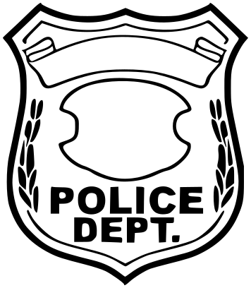 Police Line Flag Clipart police badge 25.