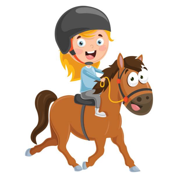 Best Pony Rides Illustrations, Royalty.