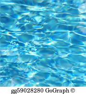 Swimming Pool Water Clip Art.