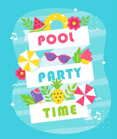 3,800 Pool Party Cliparts, Stock Vector And Royalty Free Pool Party.