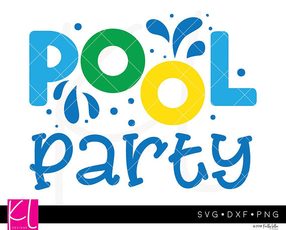 Pool Party svg, Pool svg, Summer svg, Pool Party Clipart, Swimming.