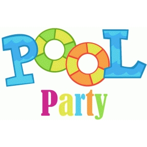 Free clipart for pool party 6 » Clipart Station.