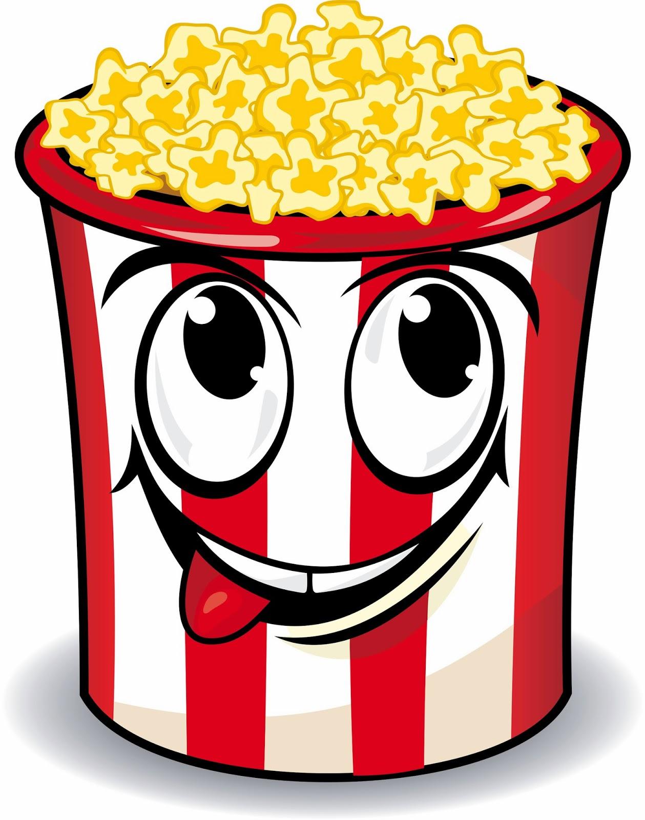 Free popcorn clipart 5.