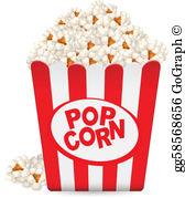Popcorn Clip Art.