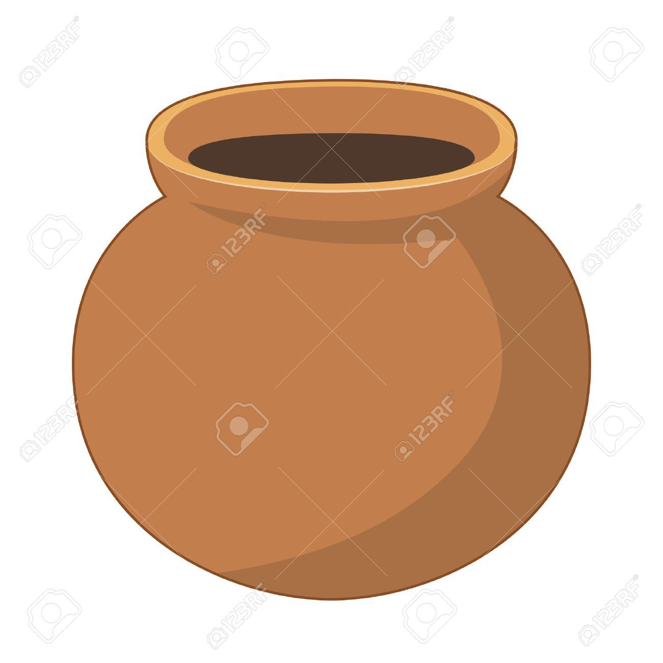 Clay pot clipart 5 » Clipart Portal.