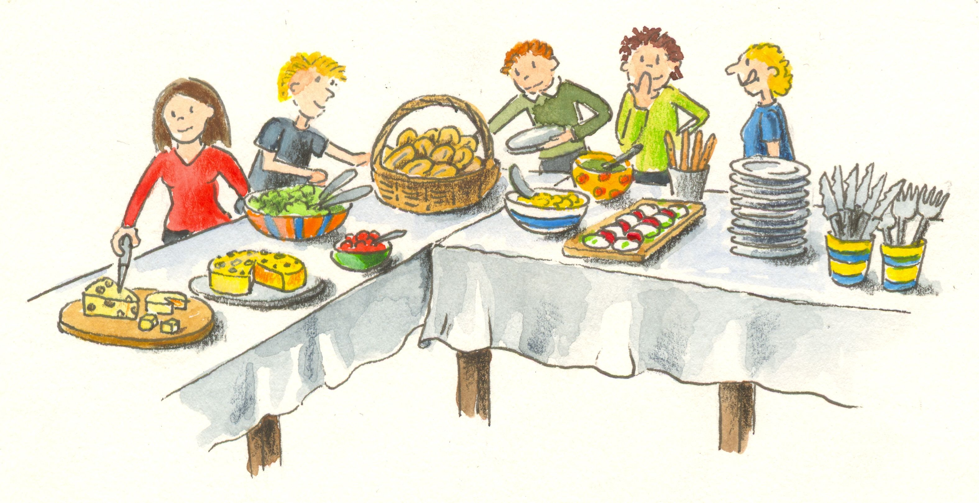 Potluck clipart library for free download and use images in.