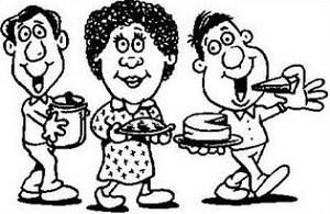 Free clipart potluck dinner 4 » Clipart Portal.