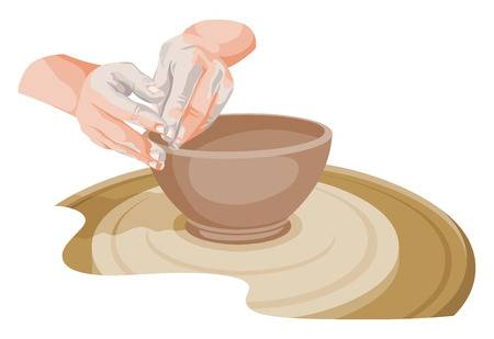 193 Pottery Wheel Stock Illustrations, Cliparts And Royalty Free.