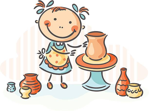 Best Pottery Illustrations, Royalty.
