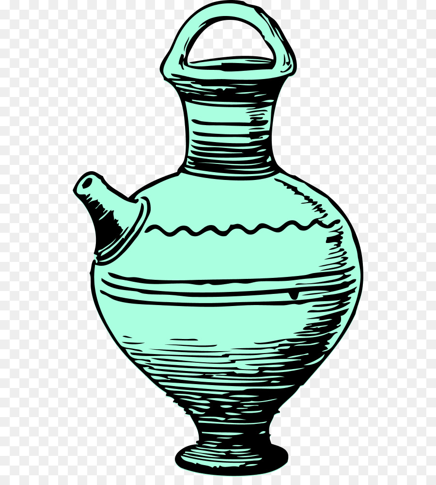 Pottery Vase png download.