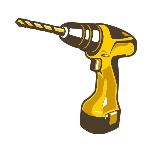 POWER DRILL C Clip Art.