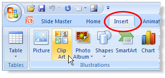 How to add a Watermark in PowerPoint 2007?.