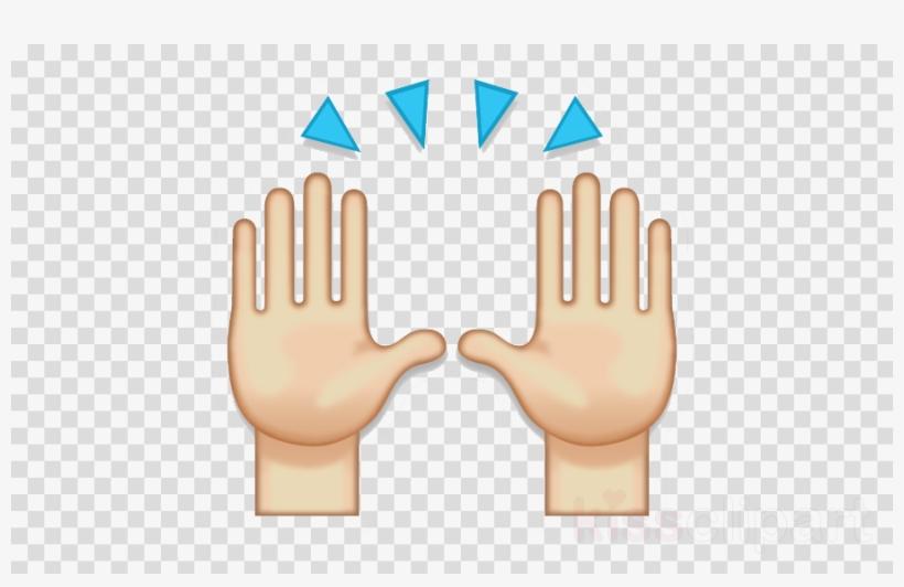 Hands Emoji Png Clipart Emoji Clip Art.