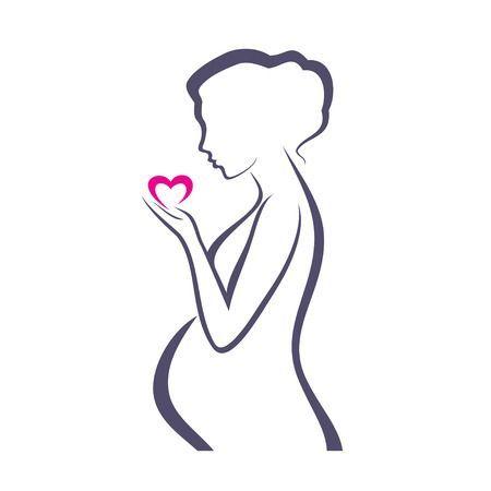 Clipart pregnant lady » Clipart Portal.