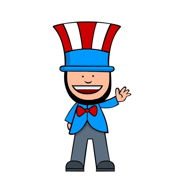 Collection of Presidents clipart.
