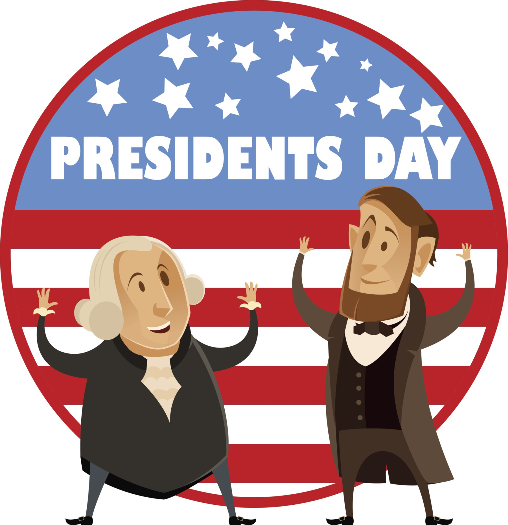Presidents day 2018 clipart 5 » Clipart Station.
