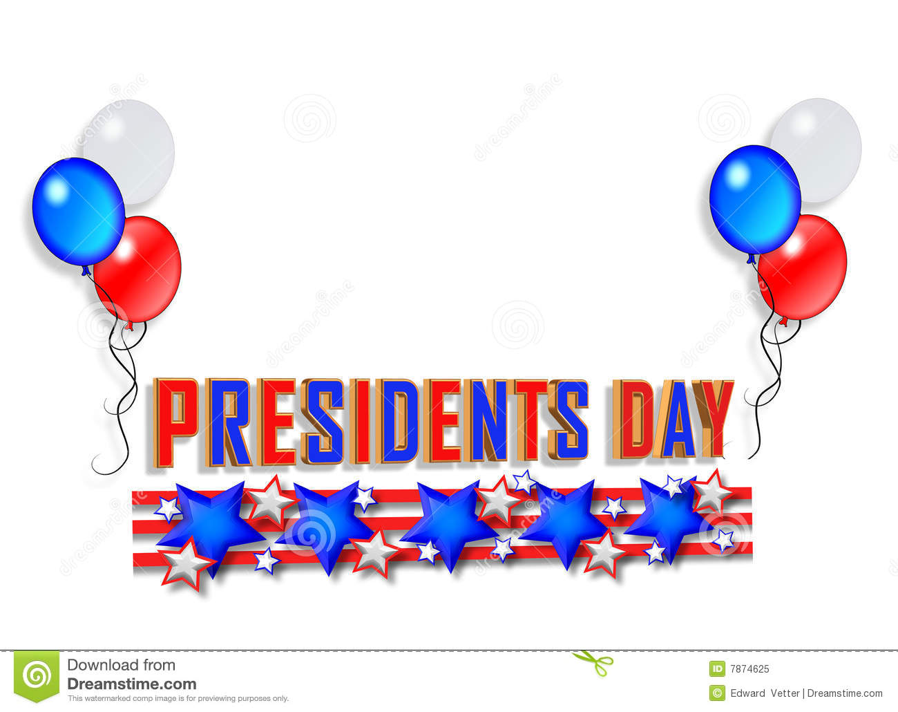 Presidents day Background 2.