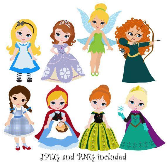 Princesas clipart 4 » Clipart Portal.